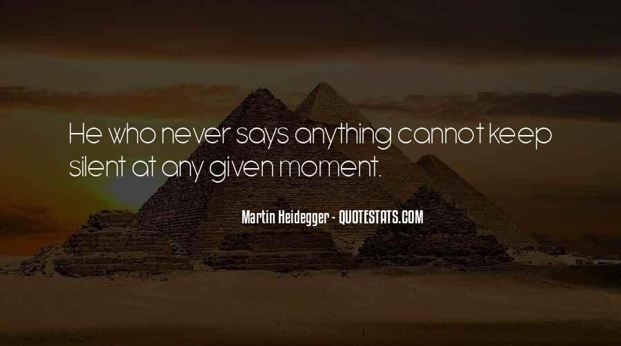 Martin Heidegger Quotes #836518