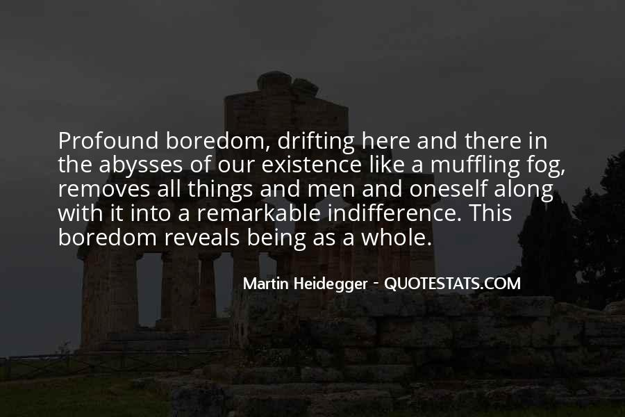 Martin Heidegger Quotes #924640