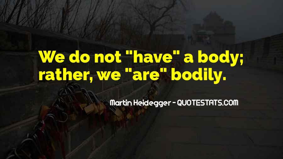 Martin Heidegger Quotes #946057