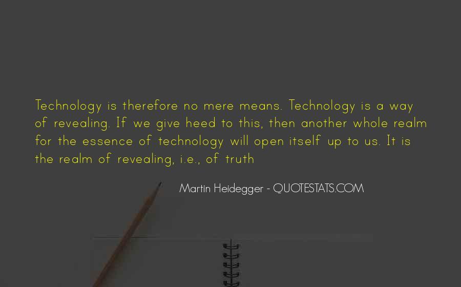 Martin Heidegger Quotes #949007