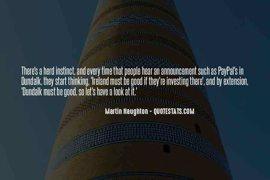 Martin Naughton Quotes #108906