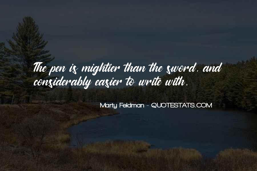 Marty Feldman Quotes #420605