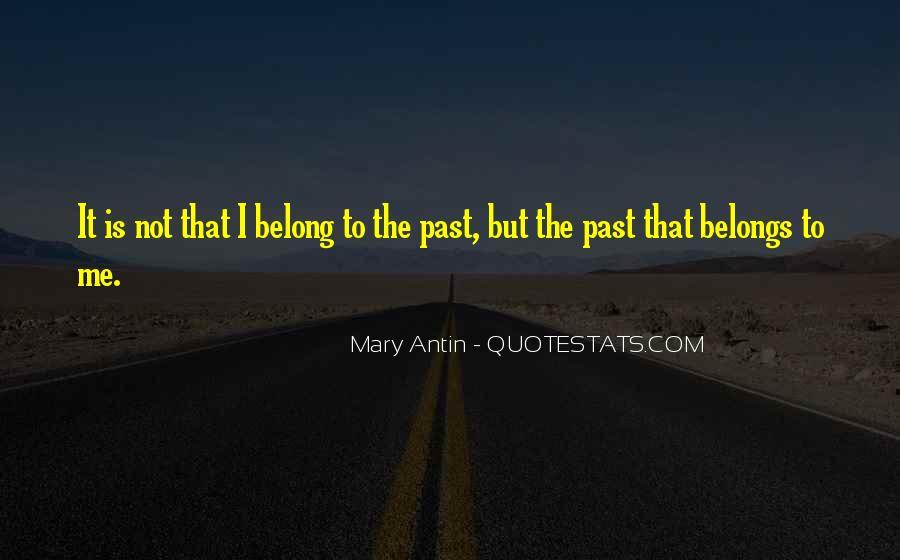 Mary Antin Quotes #1550472