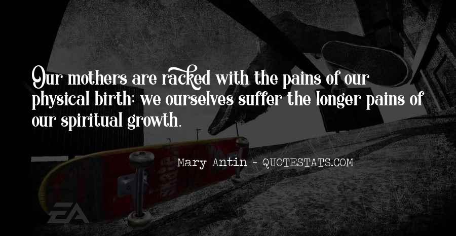Mary Antin Quotes #66547