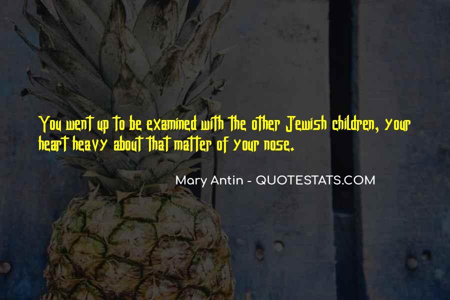 Mary Antin Quotes #837902