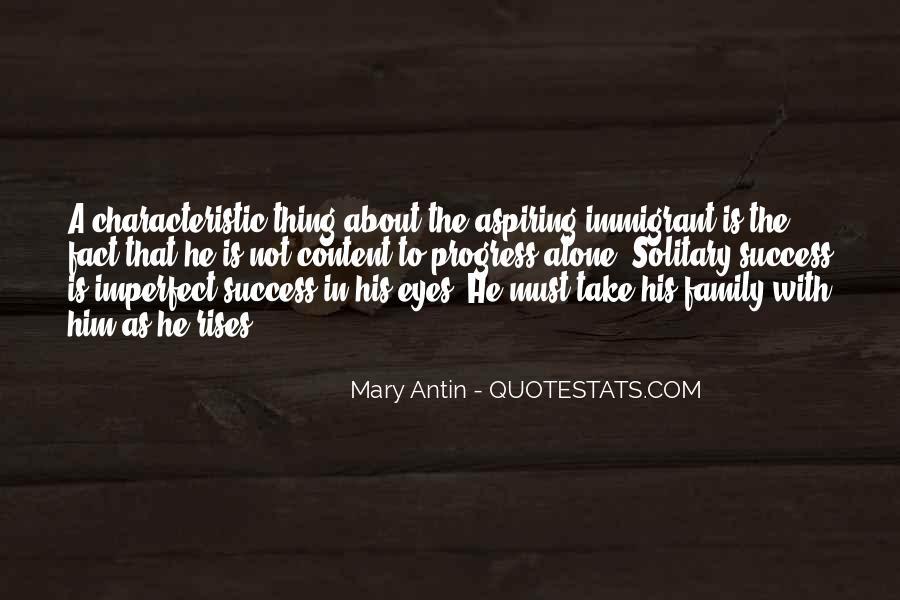 Mary Antin Quotes #847135