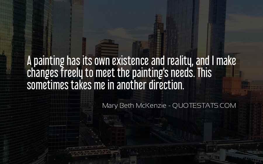 Mary Beth McKenzie Quotes #135139