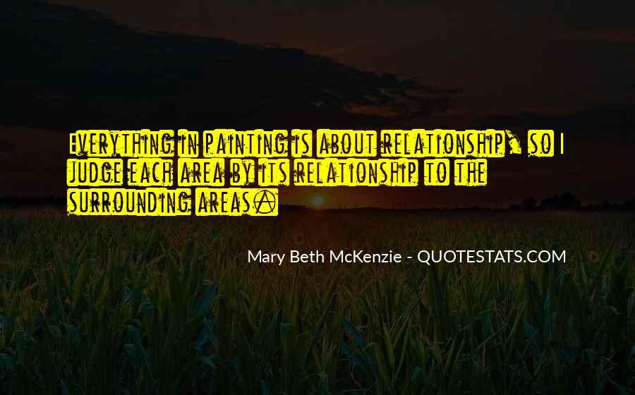 Mary Beth McKenzie Quotes #1572168