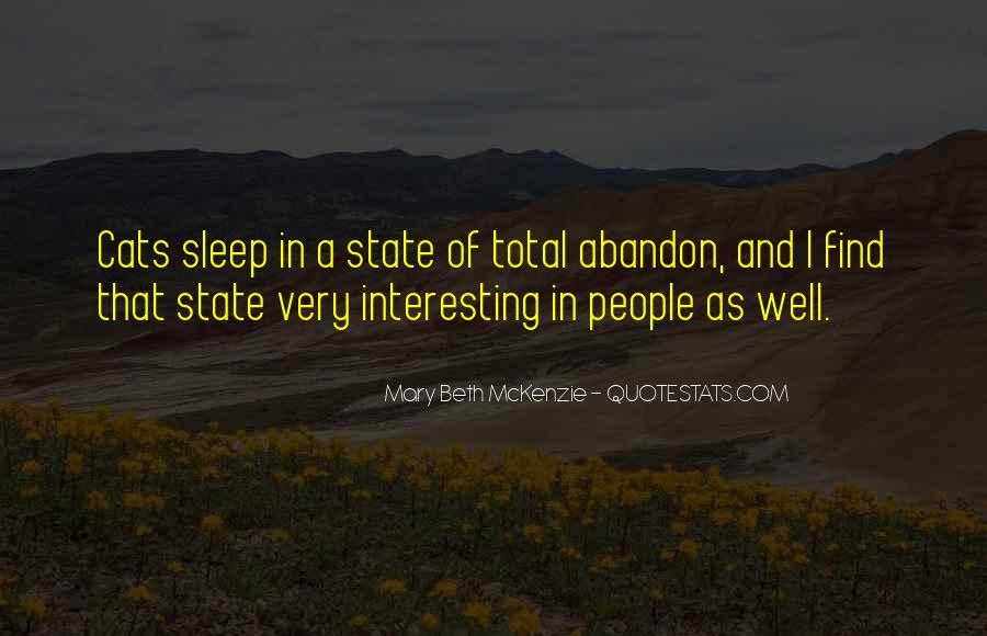 Mary Beth McKenzie Quotes #636796