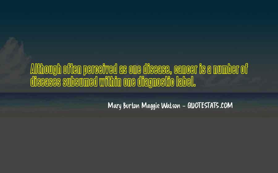 Mary Burton Maggie Watson Quotes #1836358