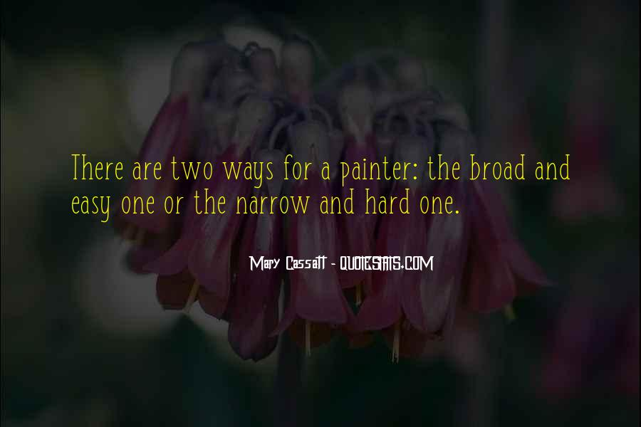 Mary Cassatt Quotes #189683