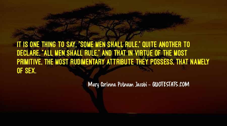 Mary Corinna Putnam Jacobi Quotes #1122785