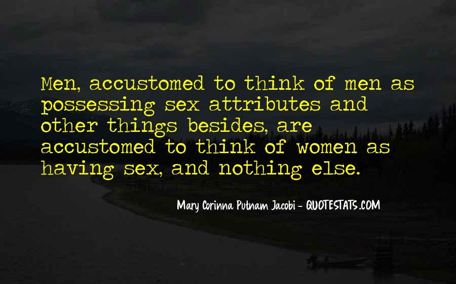 Mary Corinna Putnam Jacobi Quotes #30015