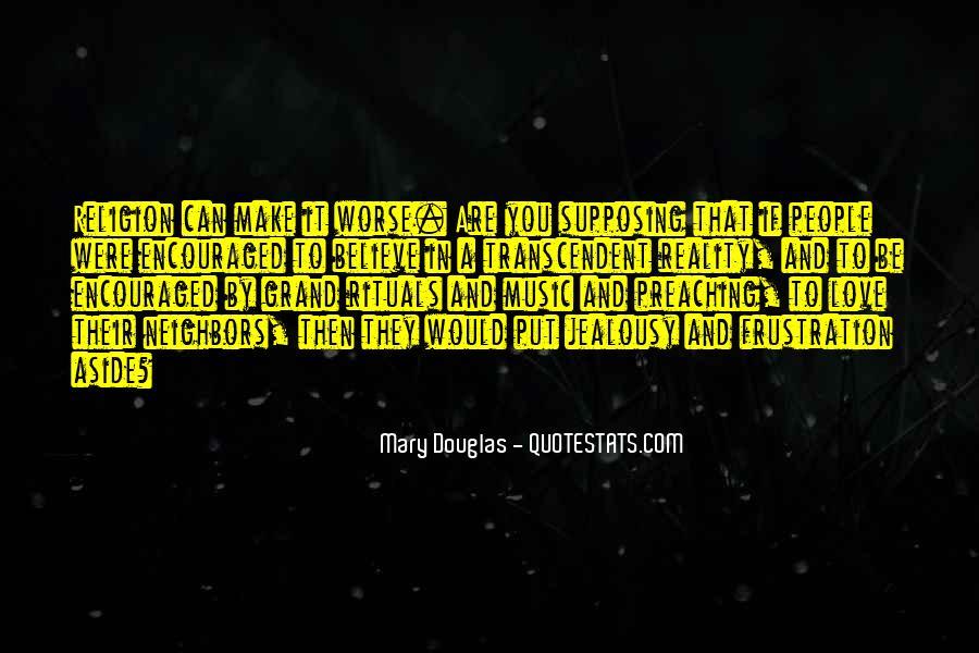 Mary Douglas Quotes #1204144