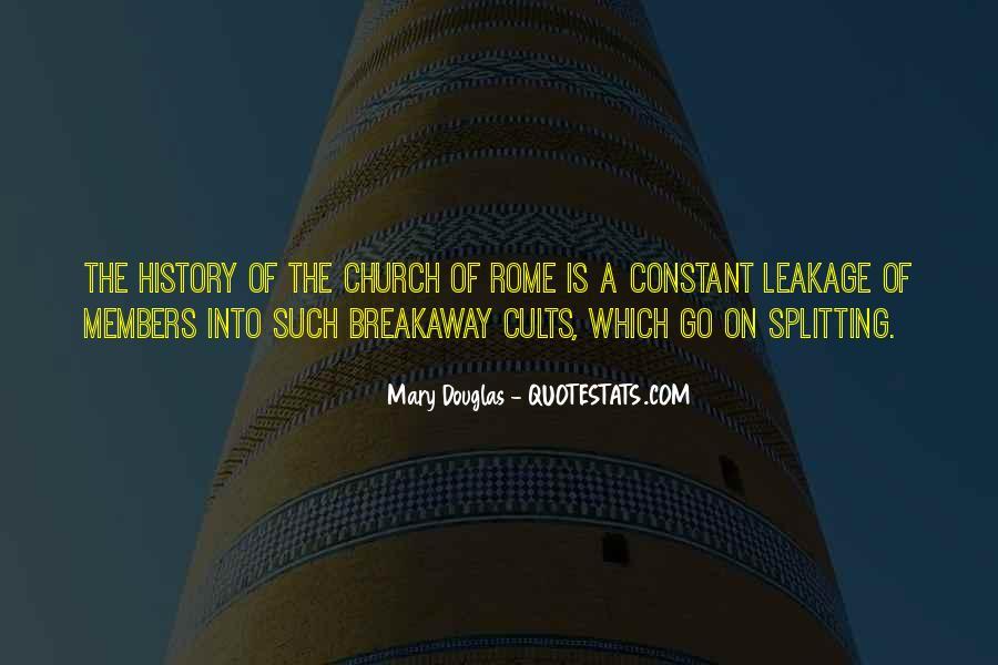 Mary Douglas Quotes #153902