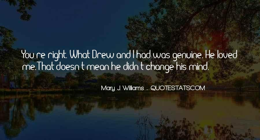 Mary J. Williams Quotes #1195606