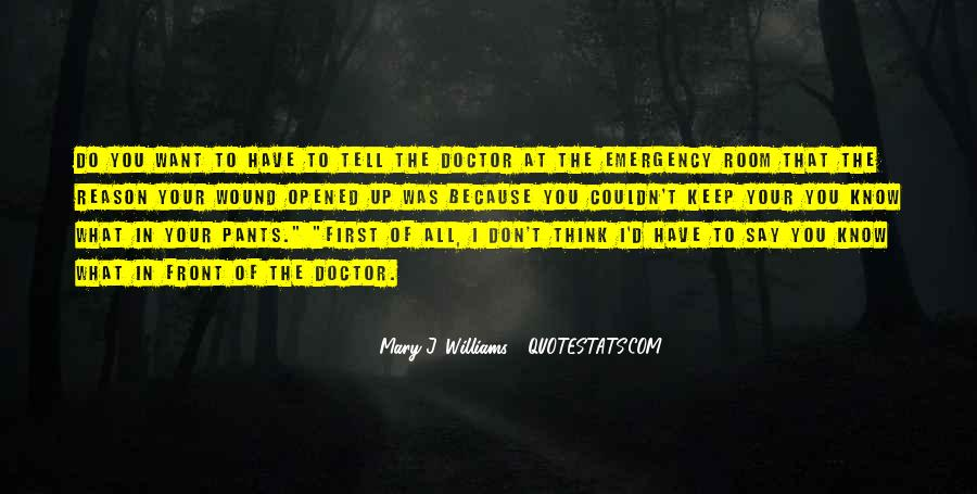 Mary J. Williams Quotes #733133