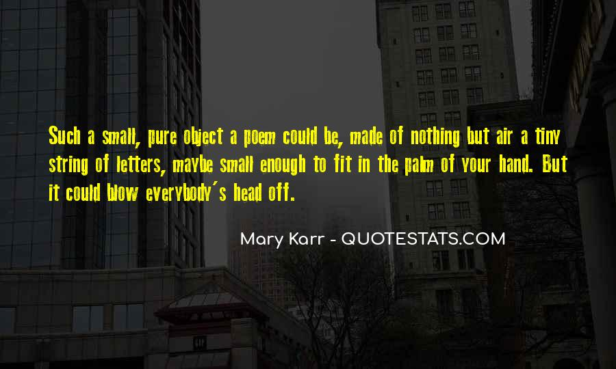 Mary Karr Quotes #1497086