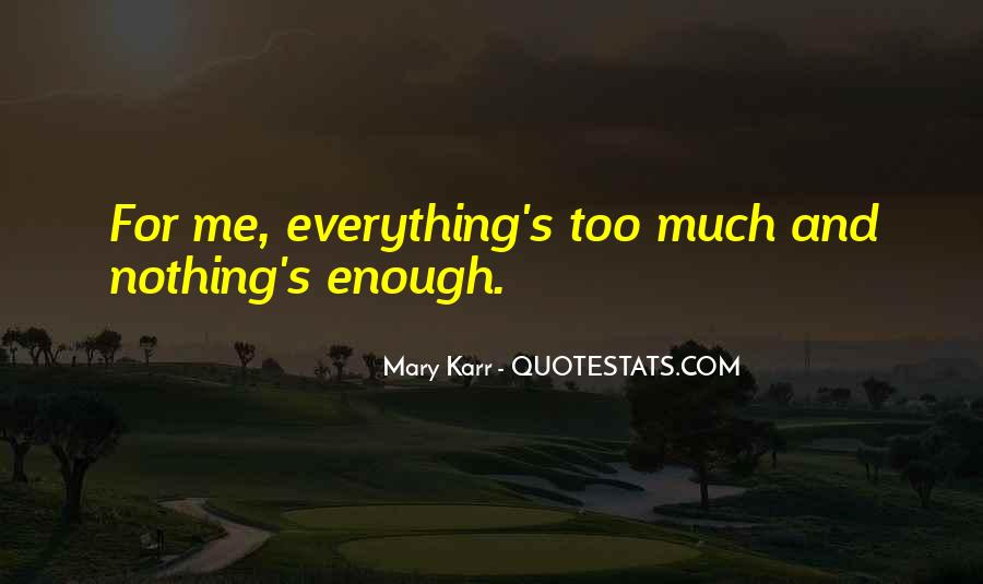Mary Karr Quotes #1715004