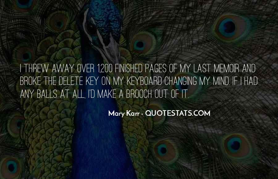 Mary Karr Quotes #487245