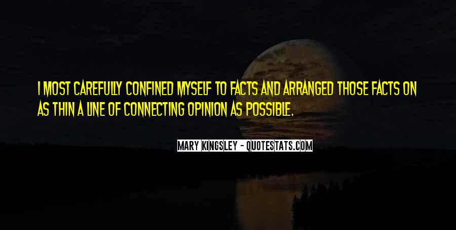Mary Kingsley Quotes #303847