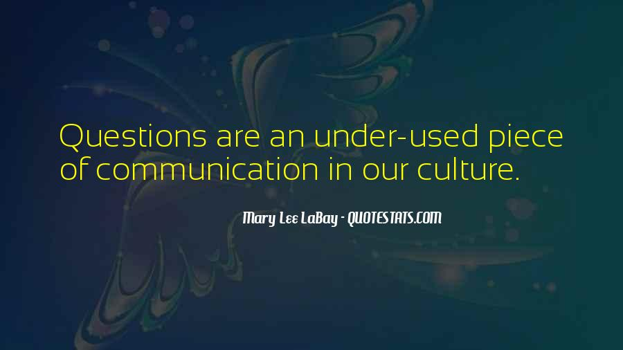 Mary Lee LaBay Quotes #1490885