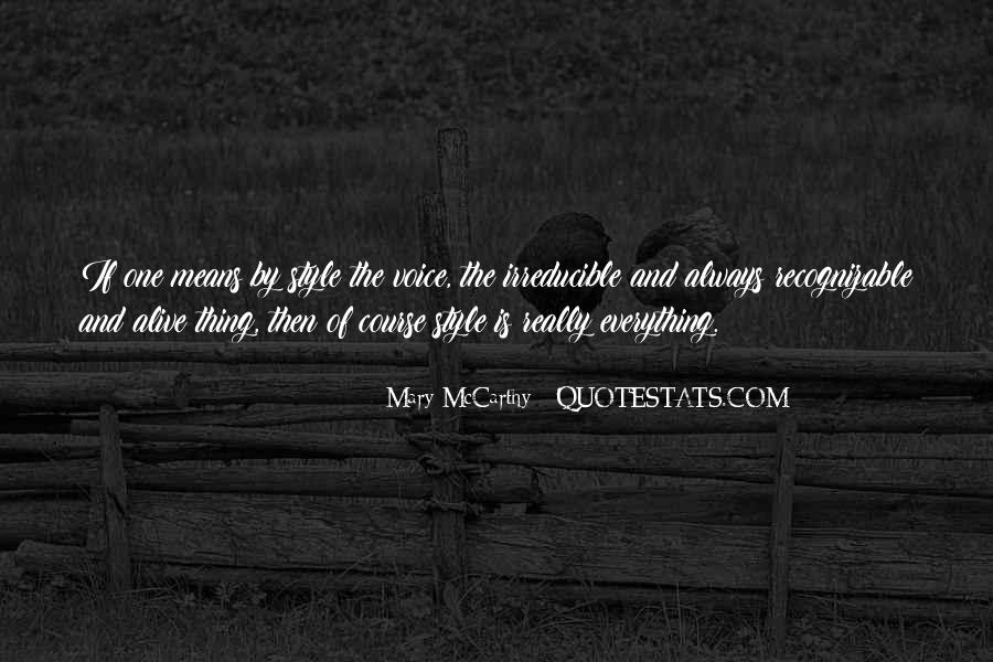 Mary McCarthy Quotes #133482