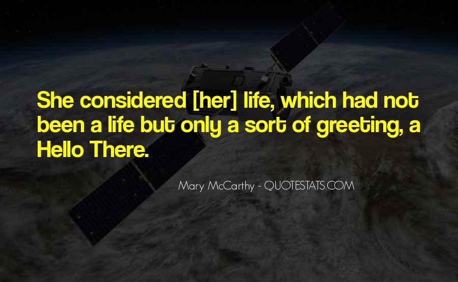 Mary McCarthy Quotes #1433945