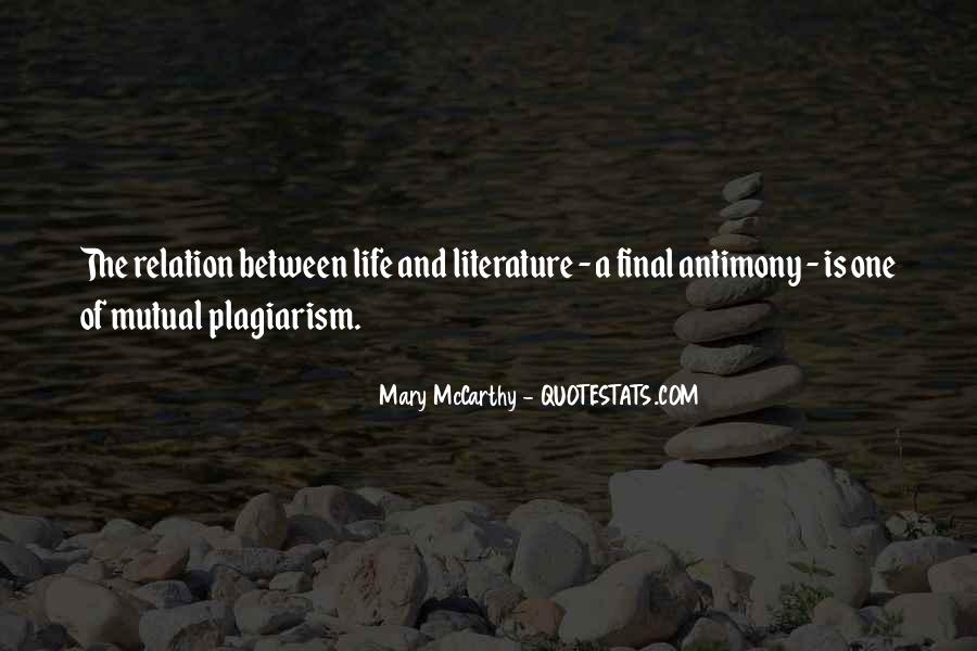 Mary McCarthy Quotes #1862394