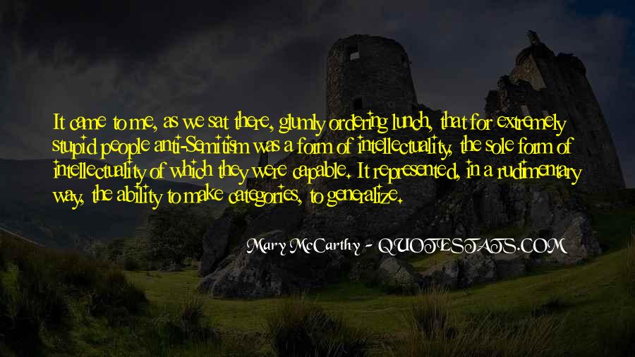 Mary McCarthy Quotes #266849