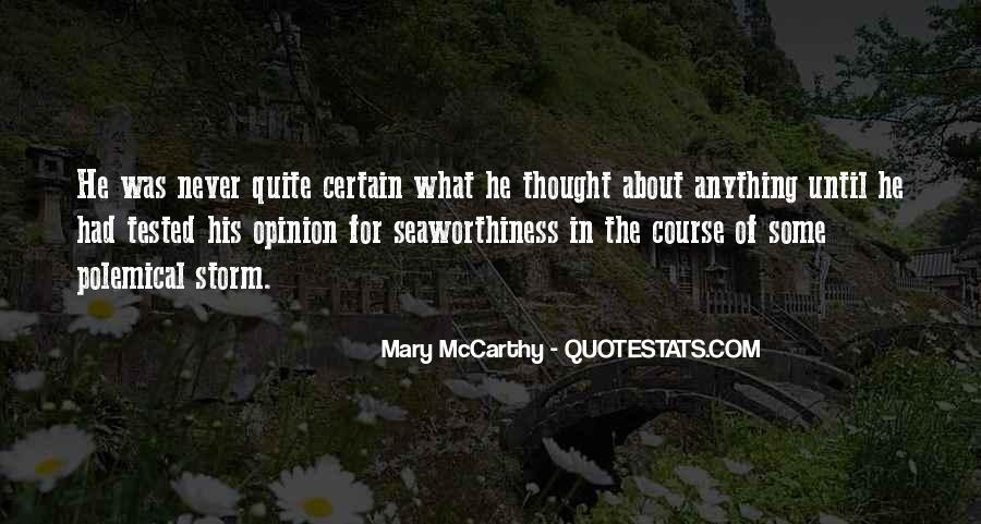 Mary McCarthy Quotes #918686