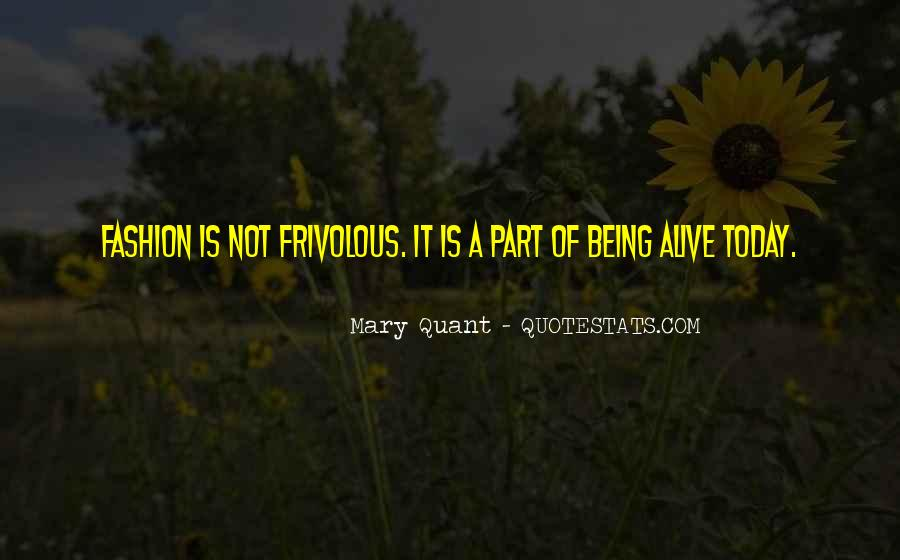 Mary Quant Quotes #1530844