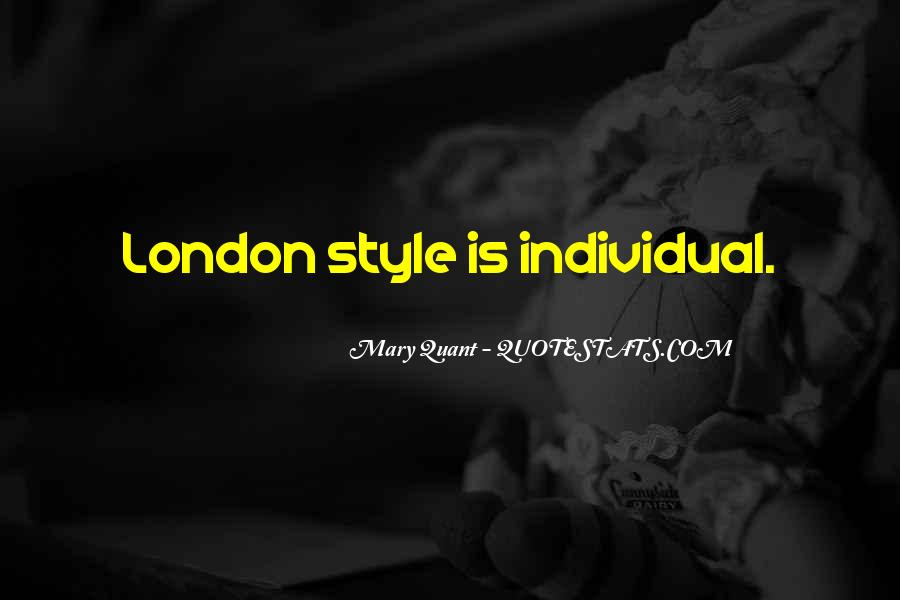 Mary Quant Quotes #1835022