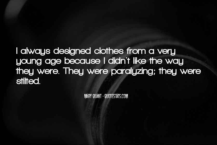 Mary Quant Quotes #889841