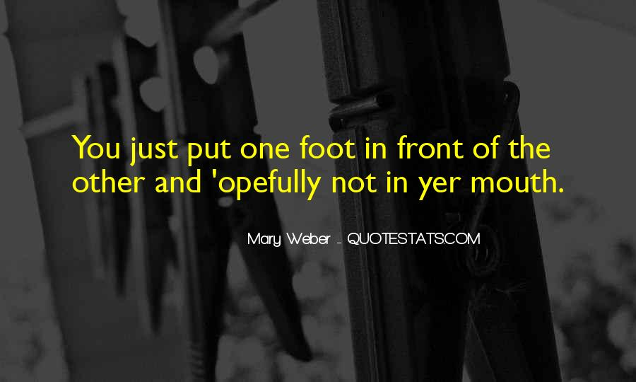 Mary Weber Quotes #1120756