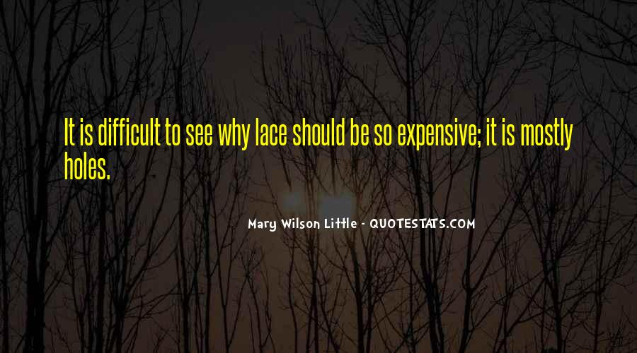 Mary Wilson Little Quotes #1166025