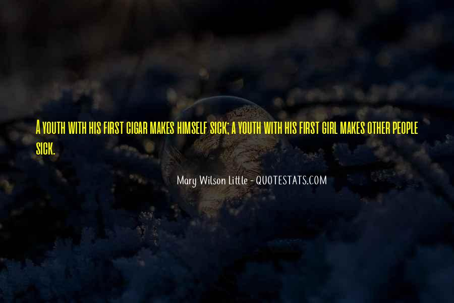 Mary Wilson Little Quotes #1361051