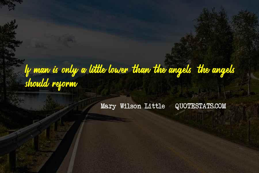 Mary Wilson Little Quotes #1493741