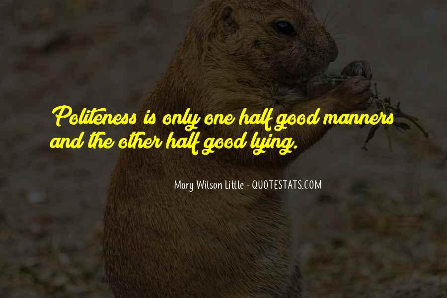 Mary Wilson Little Quotes #580801