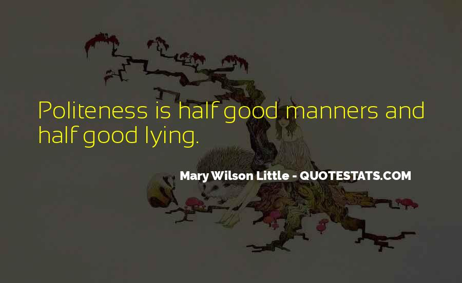 Mary Wilson Little Quotes #91729