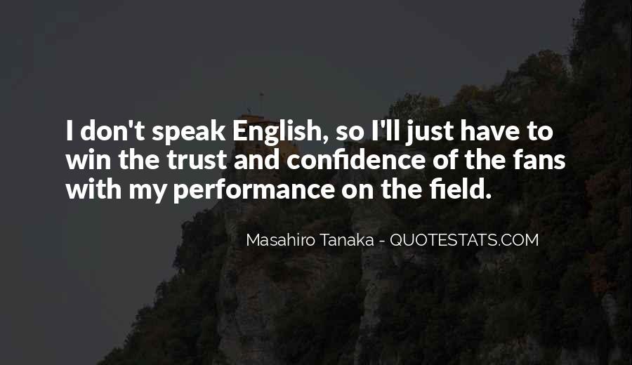 Masahiro Tanaka Quotes #540590