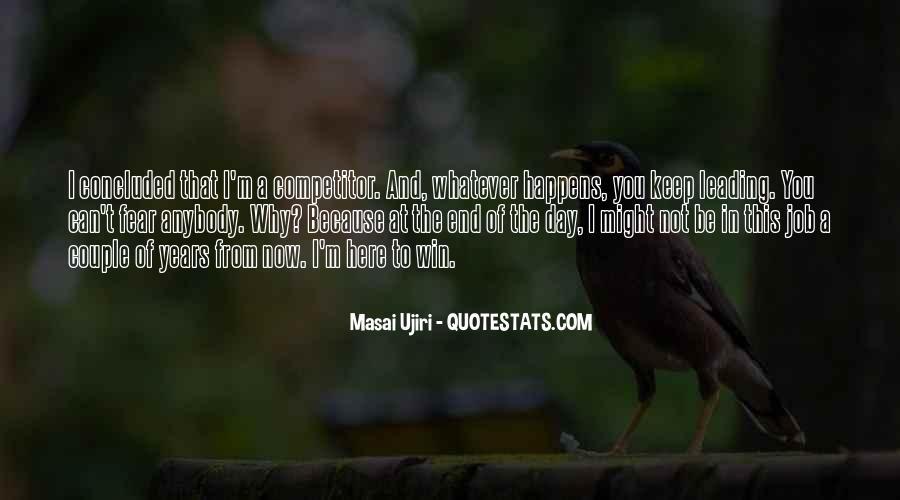 Masai Ujiri Quotes #315053