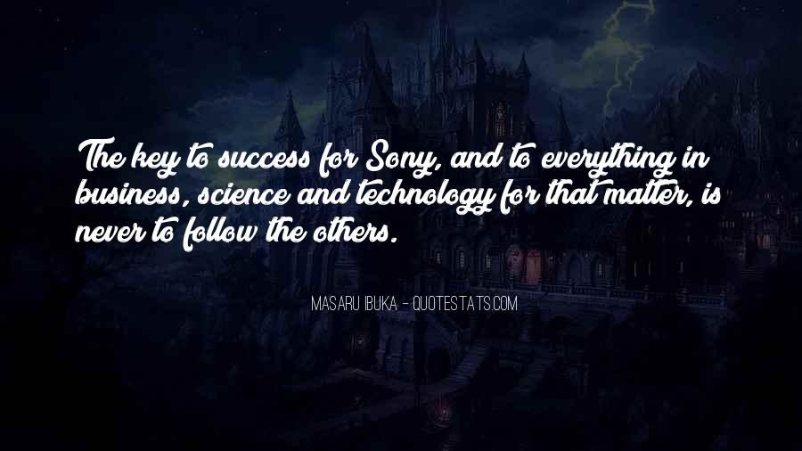 Masaru Ibuka Quotes #970576