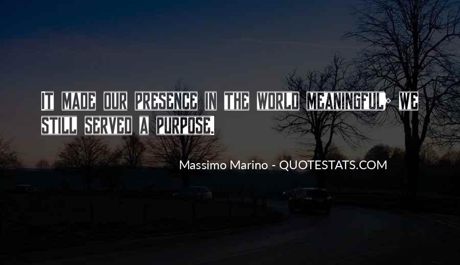 Massimo Marino Quotes #1505063