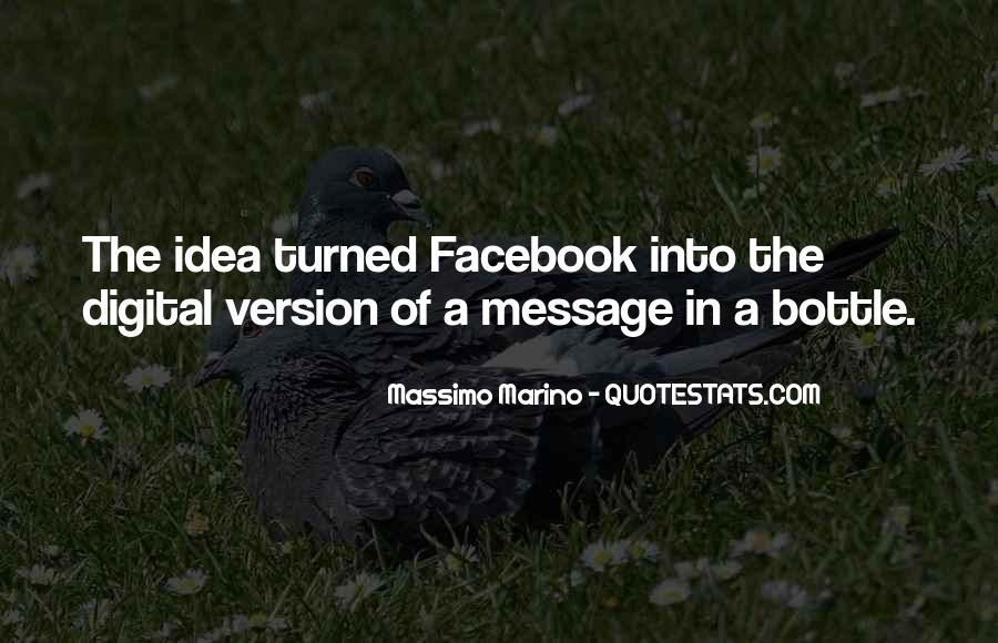 Massimo Marino Quotes #826695