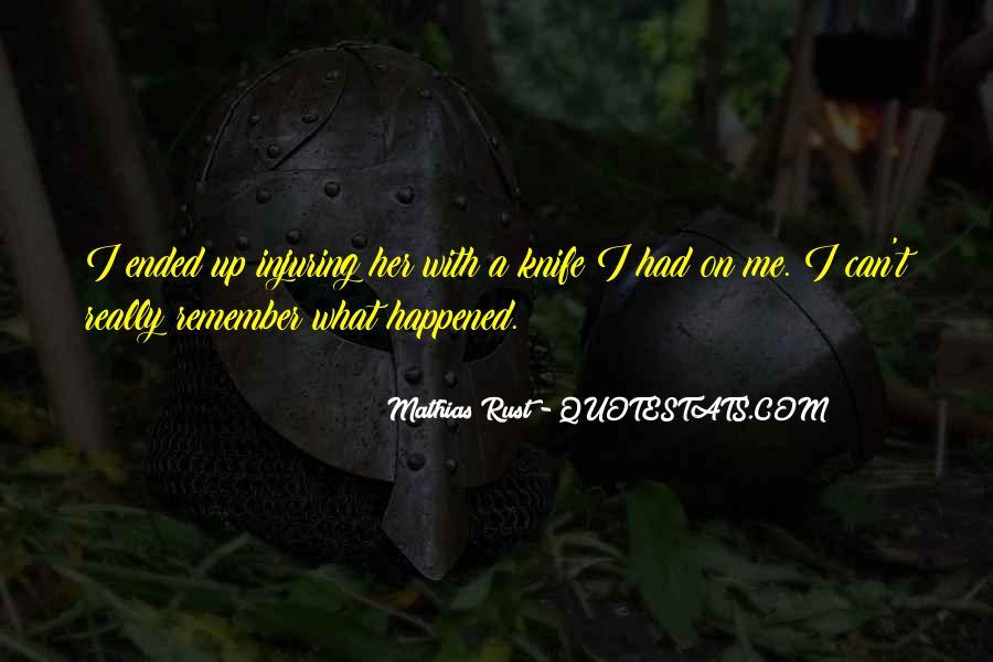 Mathias Rust Quotes #1282457