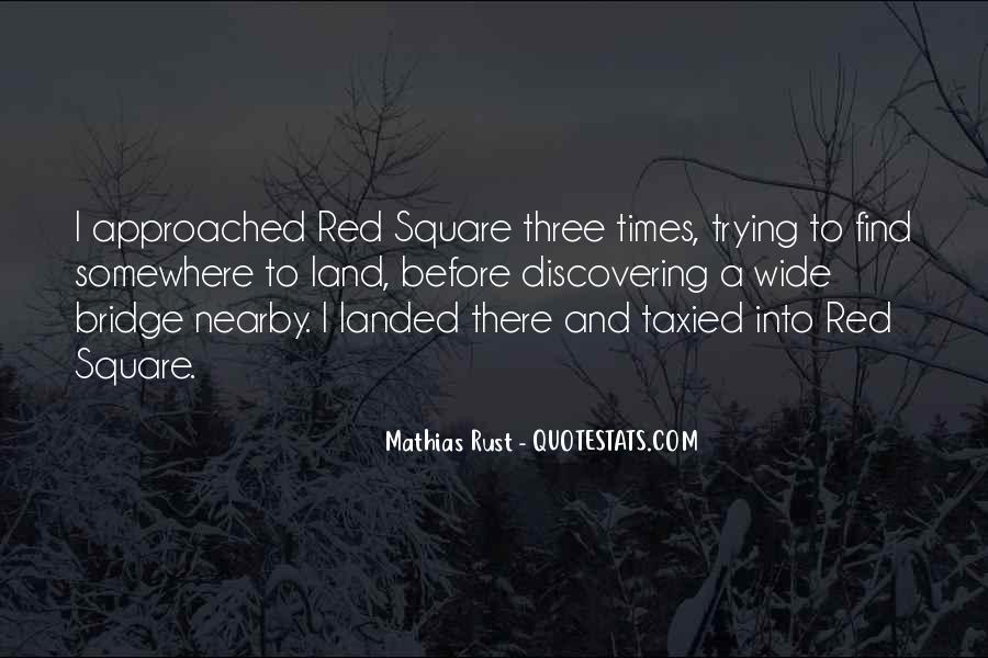 Mathias Rust Quotes #1425838
