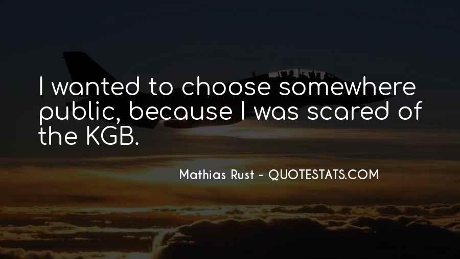 Mathias Rust Quotes #1599122