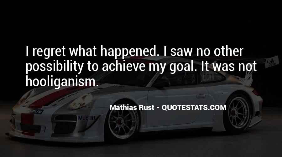 Mathias Rust Quotes #542612