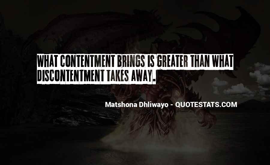 Matshona Dhliwayo Quotes #1306698